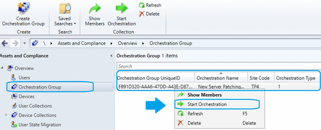 Orchestration Groups