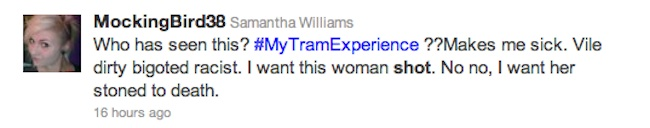 emma west twitter Is Emma West A Victim Of A Twitter Hunt? Tweeters Want My Tram Experience Woman Raped, Shot And Knifed