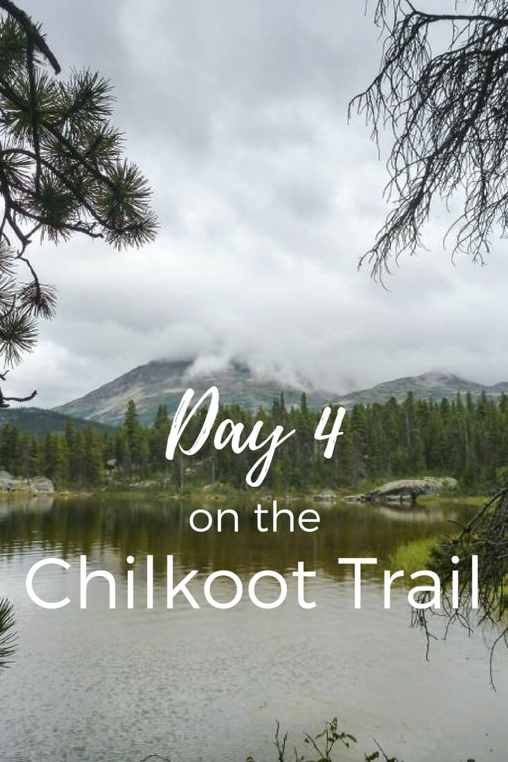 From Happy Camp to Bare Loon Lake. Follow along on Day 4 of our Chilkoot Trail hike.