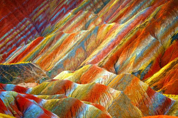 Zhangye Danxia – Rock Formations