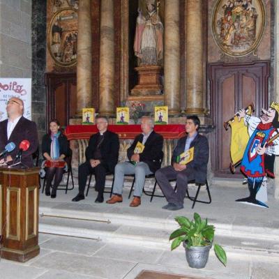 Presentación del Cómic sobre San Froilán