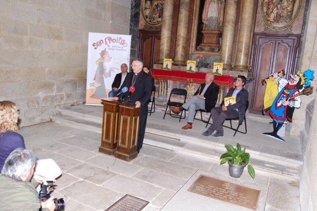 El obispo de Lugo presidió los actos de presentación