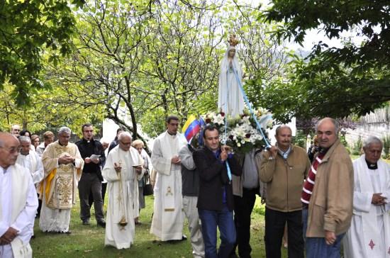 Procesión en las  Carmelitas