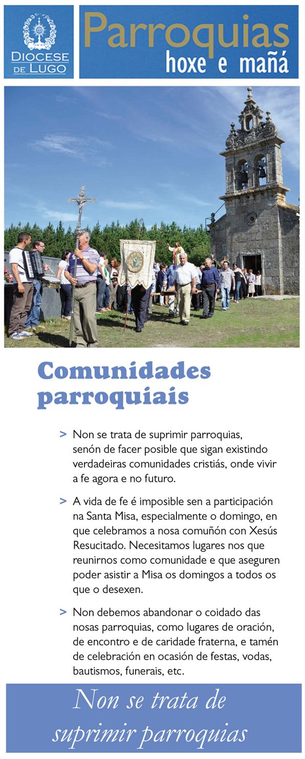 Reestructuración parroquial