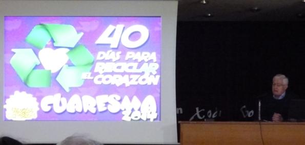 JA González conferencia preparación Coresma