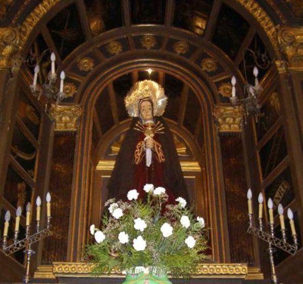 Virxe das Dores capela Soidade