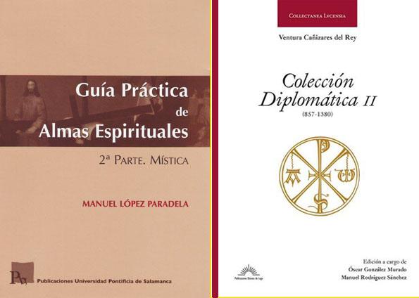Manuel López Paradela Guia de almas espirituales e Colección Diplomática de Ventura Cañizares
