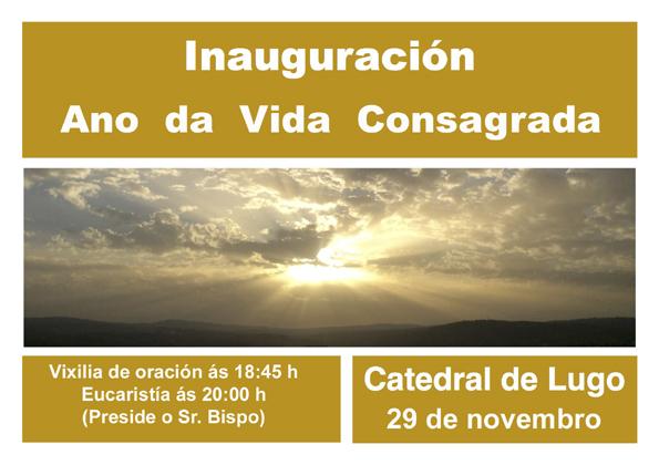 Inauguración ANO DE VIDA CONSAGRADA