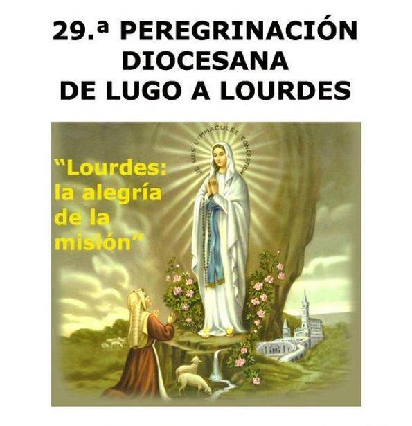 Cartel peregrinacion Lourdes 2015_1