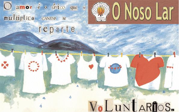 voluntarios O Noso Lar para wordpress
