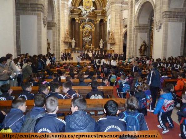 Misa 50 anos Colexio Asunción Sarria