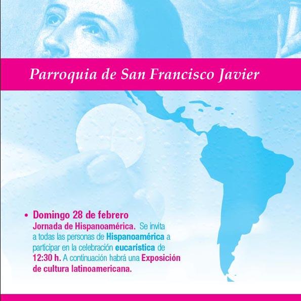 Día de Hispanoamérica S Fco XAvier 2