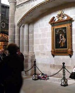 Adoración Nocturna sepuclro de Luis de Trelles catedral Zamora