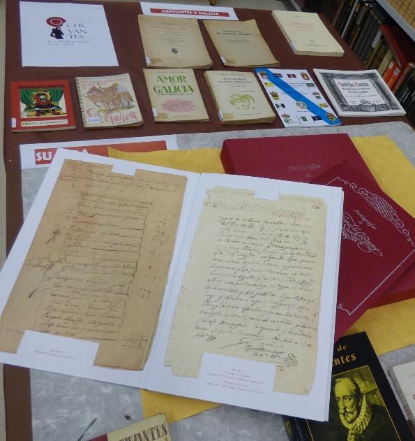 Expo Cervantes autógrafos