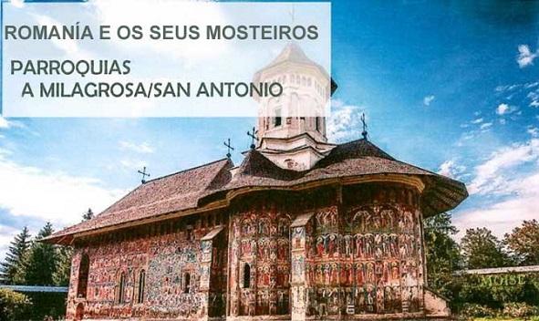 Romania e os seus mosteiros