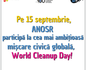 O nouă ediție de World Cleanup Day se apropie!