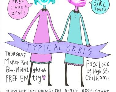 typical grrls poster