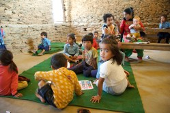 Visiting with the Sharada nursery class
