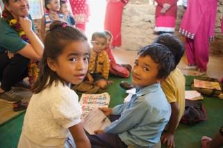 Nursery class at Sharada