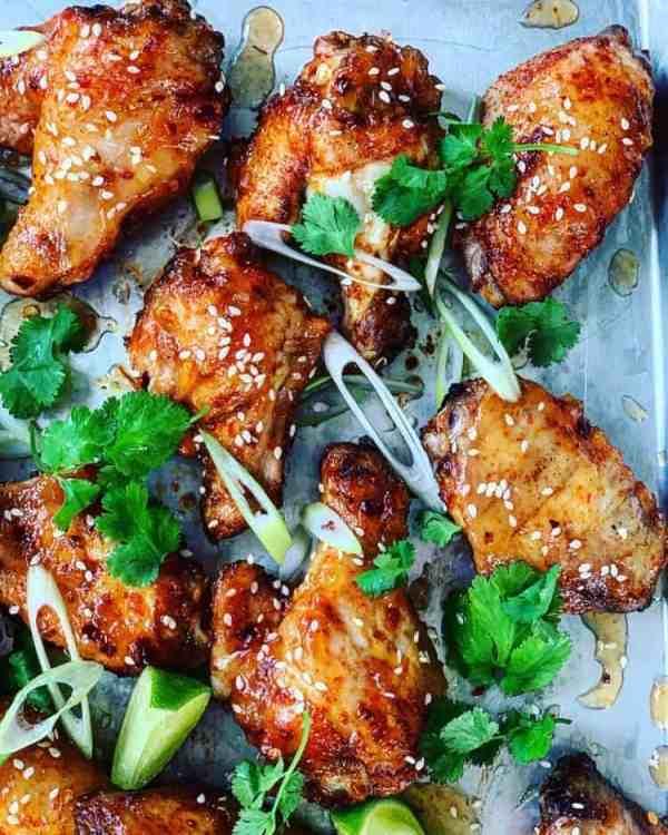 Pineapple Chicken Wings