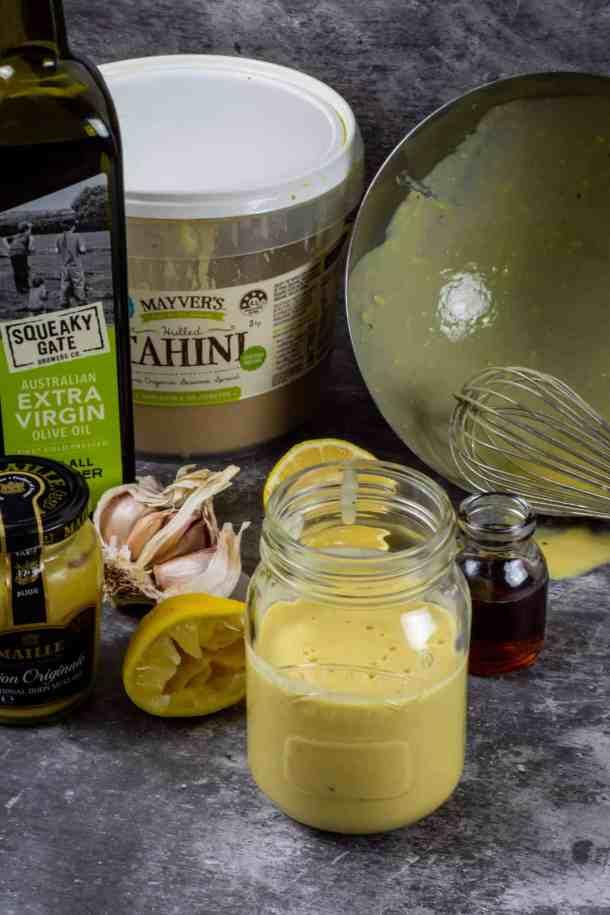 lemon tahini dressing ingredients