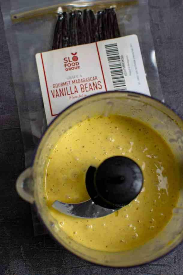 vanilla lime aioli & slofoodgrp vanilla beans