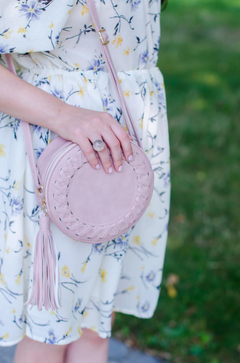 sammy dress tassel round bag