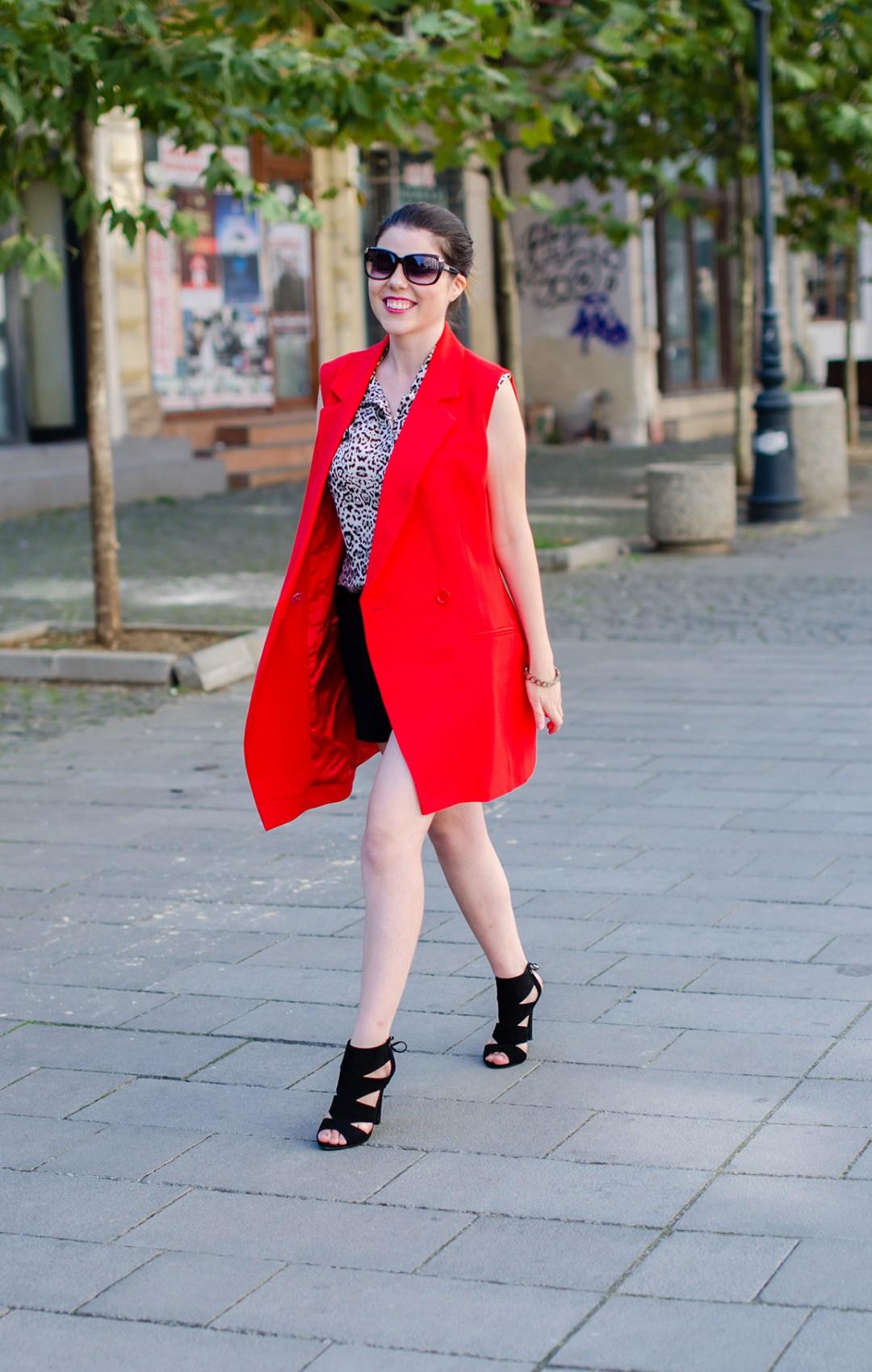 long-red-vest