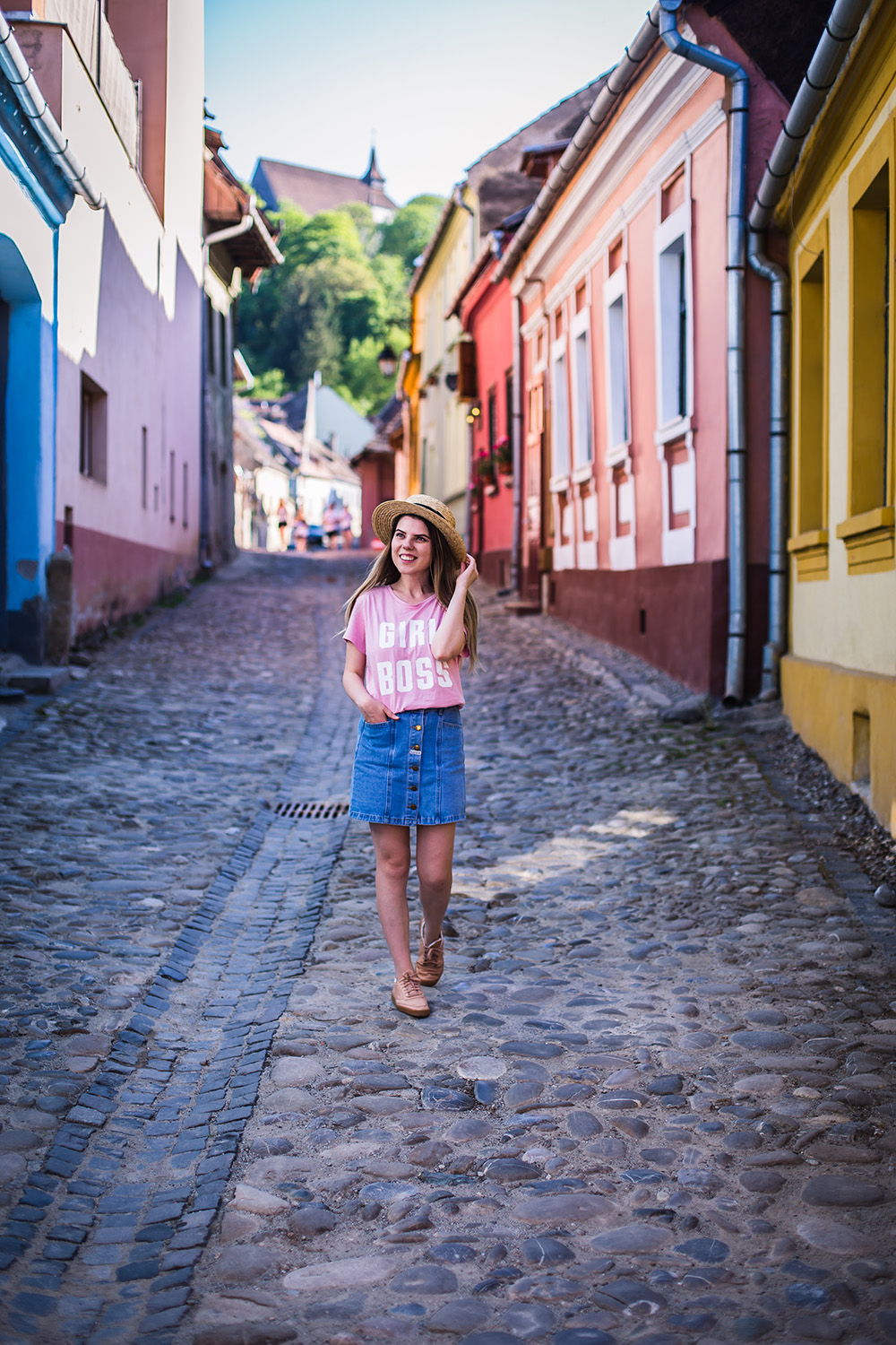 colorful streets of sighisoara travel post