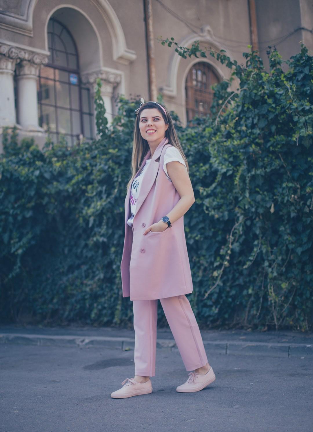 vip shop pink suit