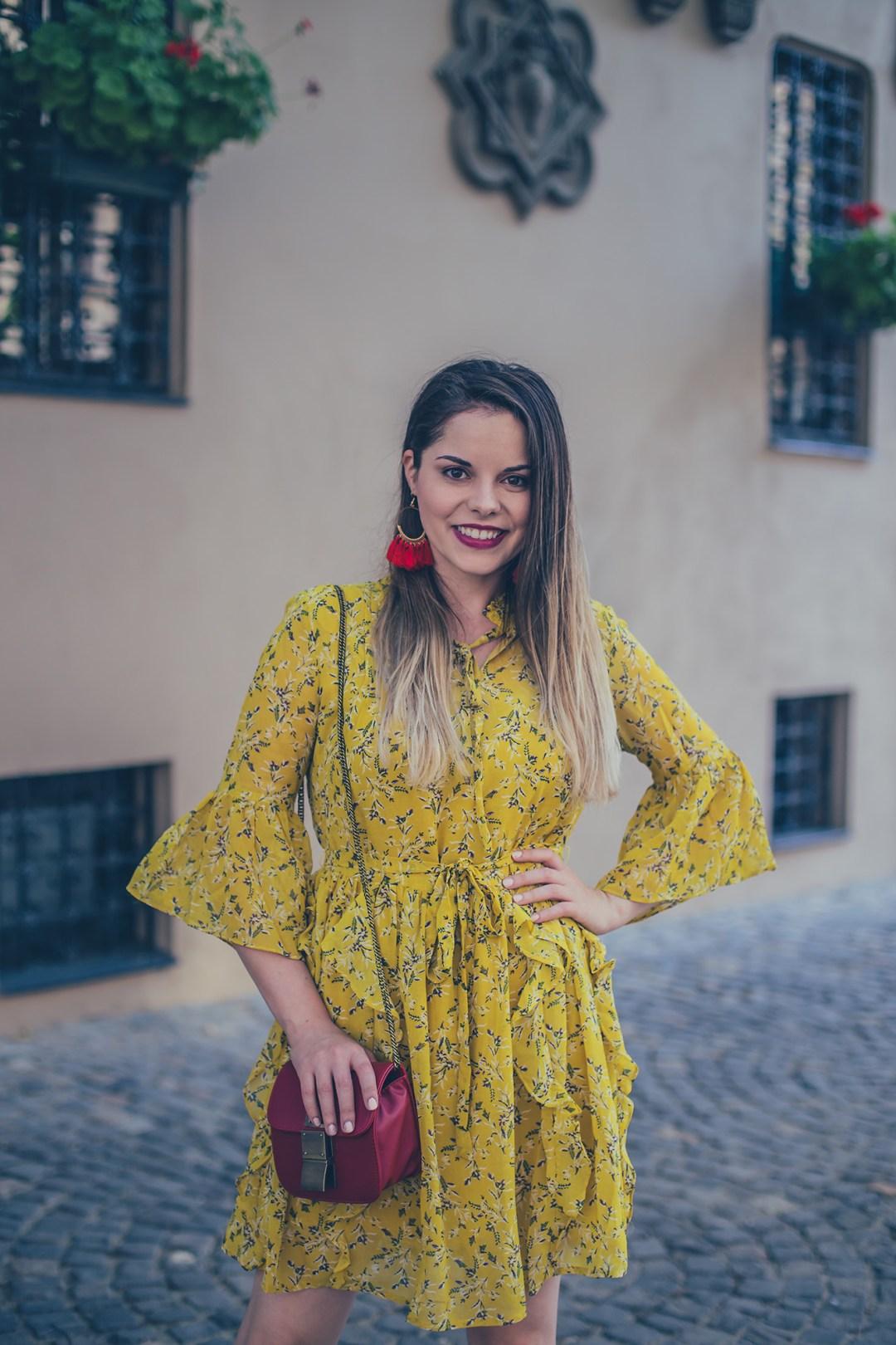yellow summer dress vip shop