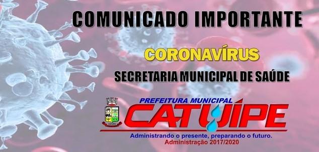 Catuípe registra quinto caso de Covid-19