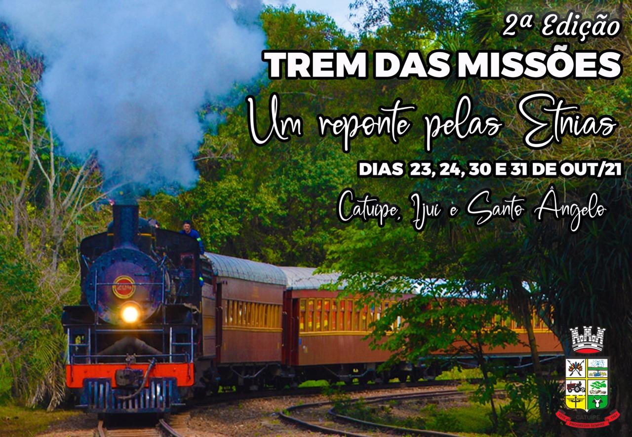 Lançamento da segunda edição do Projeto Trem das Missões – Um reponte pelas etnias