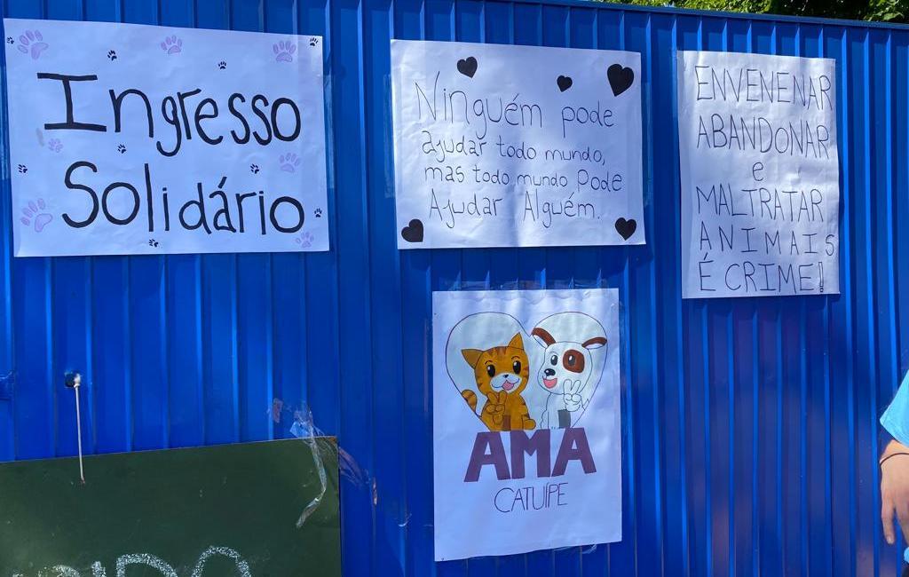 Melhores Amigos Catuípe realiza ação solidária em jogo do Campeonato de Municipal de Futebol