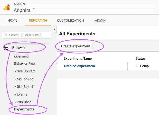 analytics-add-experiment