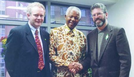 Mandela, McG and Adams