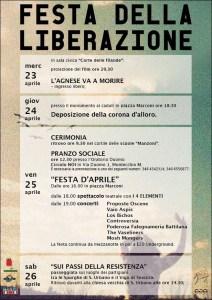 Manifesto 25 Aprile 2014 Montecchio