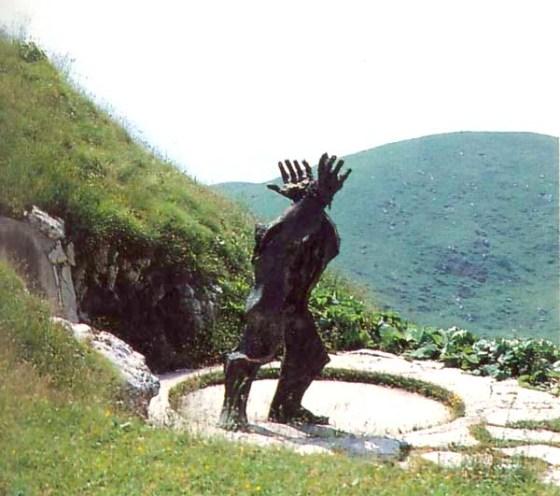 Augusto Murer - Monumento al partigiano di cima Grappa