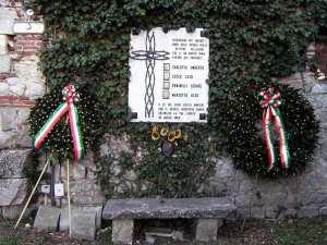 Lapide per i 4 martiri delle officine Pellizzari