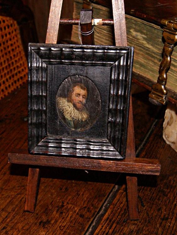 Ref. 04 - Miniatuur schilderij 17e eeuws