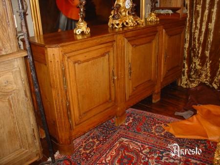 Ref. 09 - 3 deurs dressoir Louis XVI Namur