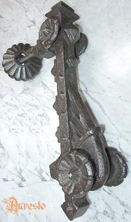 Gotische deurklopper