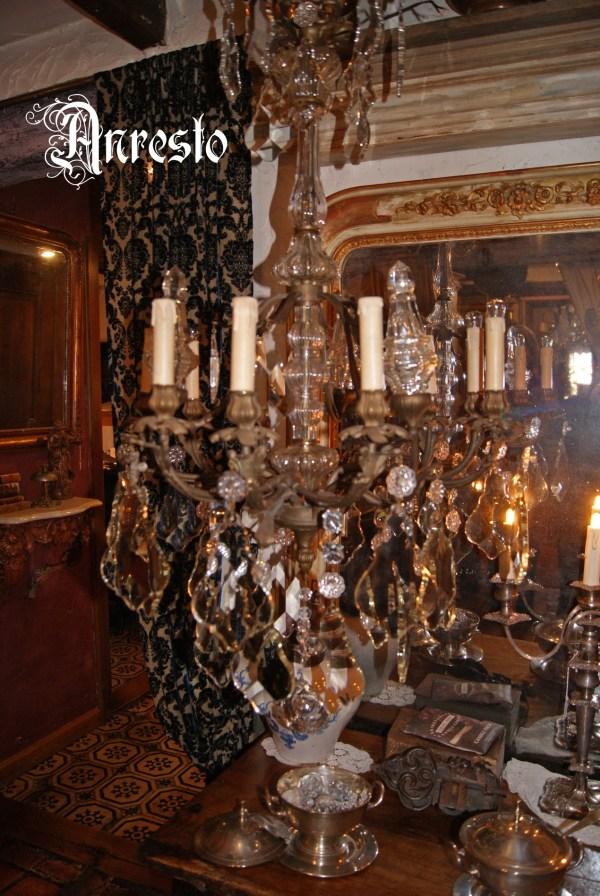 Antieke italiaanse hanglamp
