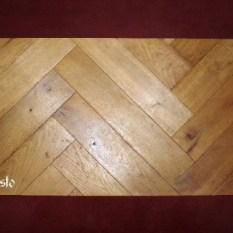Ref. 17 – Kopse visgraat Vlaamse parket vloer