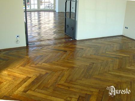 Antiek Visgraat Parket : Ref u kopse visgraat vlaamse parket vloer anresto decor