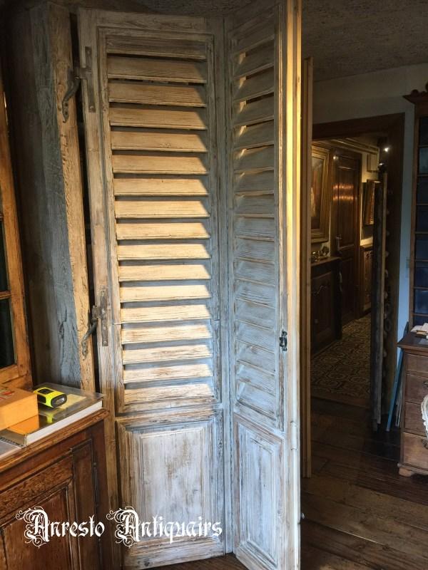 Ref. 21 – Exclusieve binnenluiken op maat uit oud hout