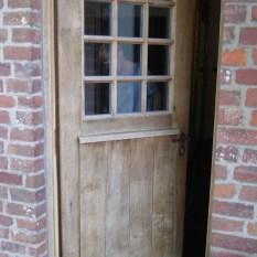 Ref. 52 – Exclusieve deur wordt op uw maat gemaakt met oud hout