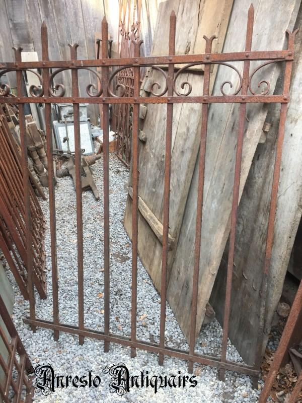 Ref. 34 – Kleine smeedijzeren poort, ijzeren hekwerk