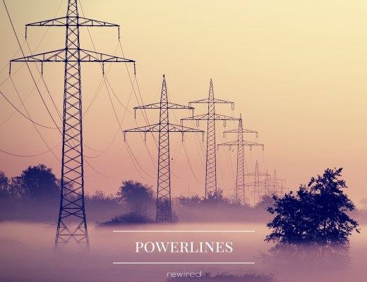 rewired_powerlines_album_cover_A&R_Factory