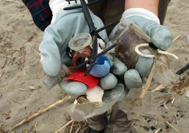 Risultati immagini per Al via spiagge pulite di Legambiente, per la campagna anti-rifiuti in mare